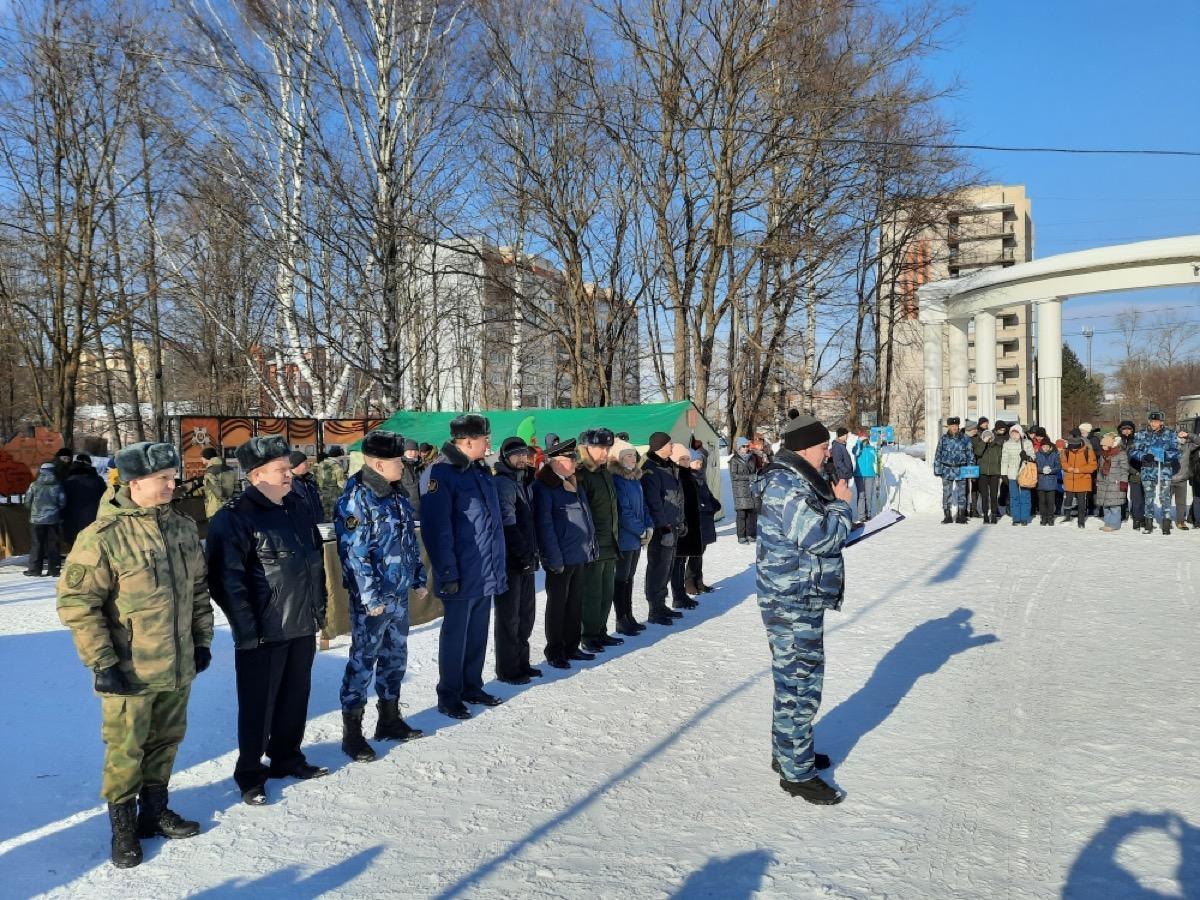 Военно-патриотическая игра «Виват Победа!» в городе Вологде!